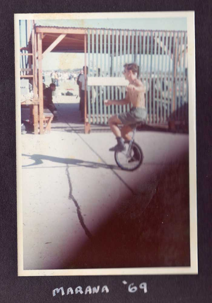 Pat Moore Unicycle
